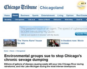 Chicago Tribune MWRD article