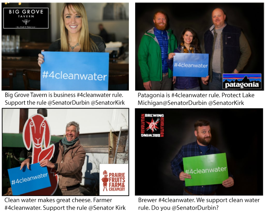 We are #4cleanwater!