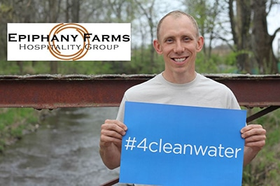 Epiphany Farms is #4cleanwater