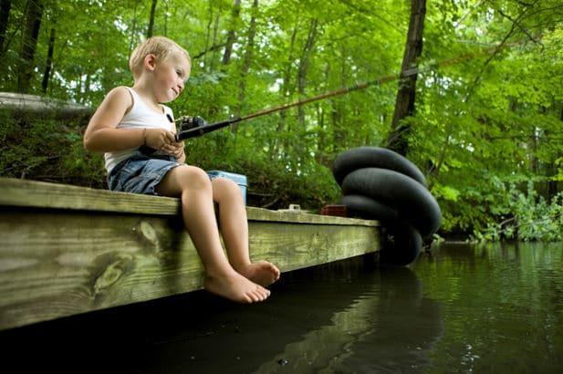 kid fishing_photo credit: Jason Lindsey