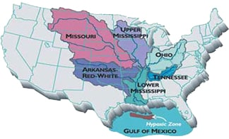 Gulf of Mexico Dead Zone - Prairie Rivers Network Zone Map Gulf Of Mexico on zone map washington, zone map pacific, zone 9 map, zone map arkansas, ecosystems with map of mexico, zone map usa, zone map new england, zone map florida, zone map canada, zone map north america, zone map wyoming,
