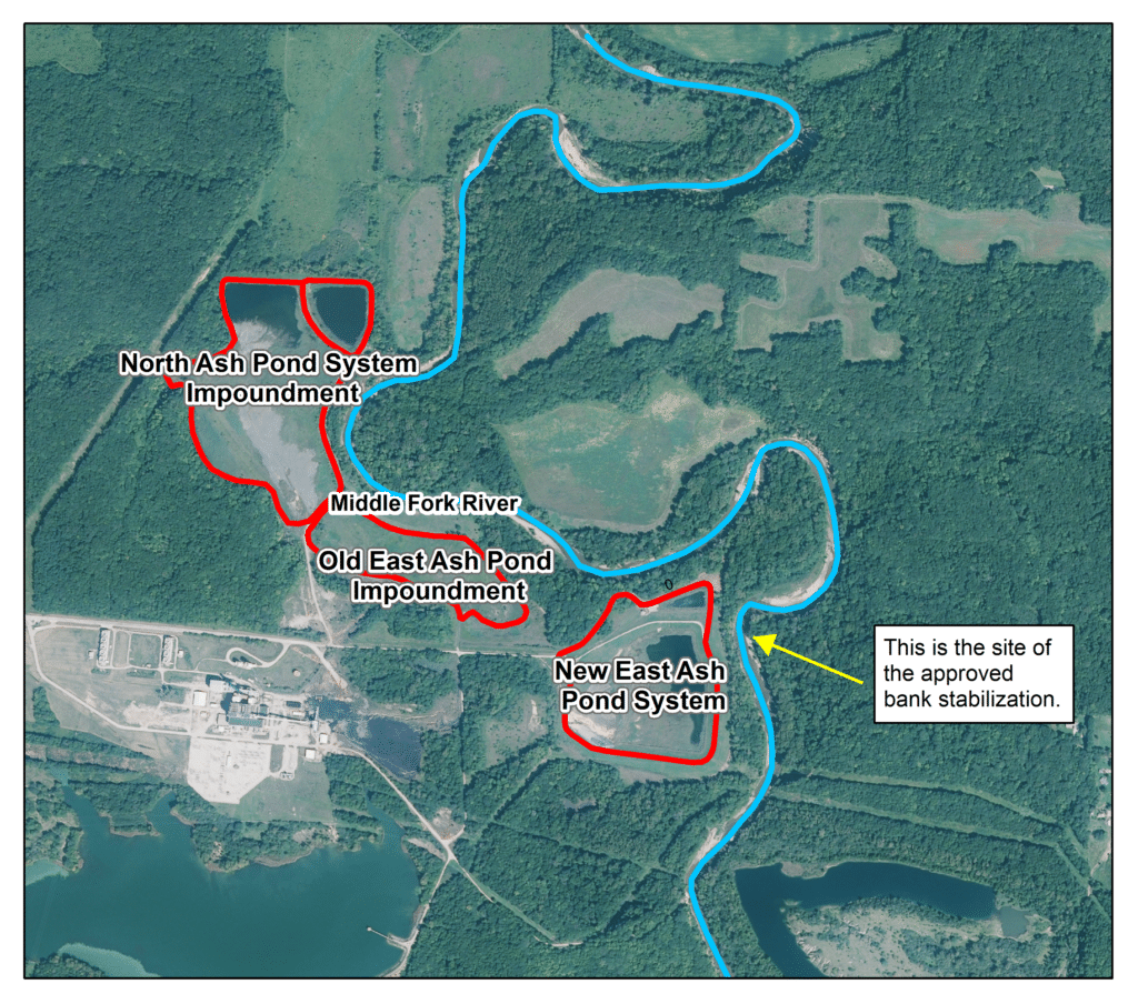 National park service encourages removal of dynegy s coal for Design of ash pond