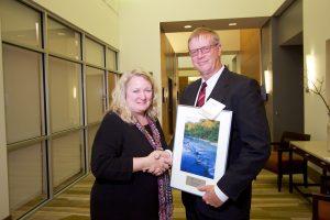 Outstanding Public Servant  Steve Stierwalt with Carol Hays